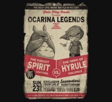 Ocarina Legends Kids Tee