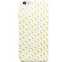 Retro Chic Golden Flamingos iPhone Case/Skin