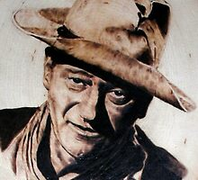 John Wayne 1 by burntmemories