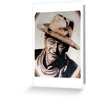 John Wayne 1 Greeting Card