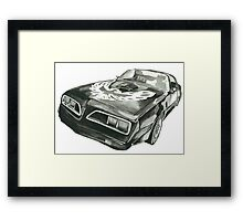 THE TRANS-AM Framed Print