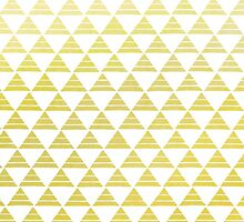 Golden Hipster Triangles by phantomprint