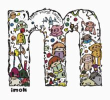 IMOK Letter M Kids Clothes