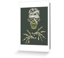 The Mummy Greeting Card