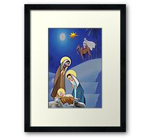 Nativity  (1328  Views) Framed Print