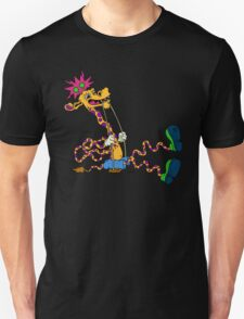 psychedelic giraffe swing T-Shirt