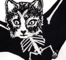 Batcat Sticker