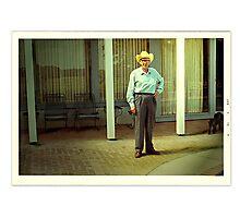 My Gramp. Photographic Print