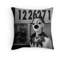 Your Number is Up Throw Pillow