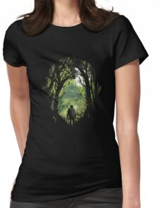The Legend of Zelda - Wood Womens Fitted T-Shirt