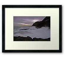 Bogey Hole at Dusk 11 Framed Print