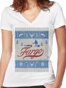 Fargo Women's Fitted V-Neck T-Shirt