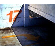 17 Below Photographic Print