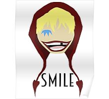 "Corazon Broken ""Smile"" Poster"