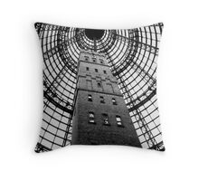 Lead Pipe & Shot Factory Throw Pillow