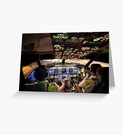Final Approach Greeting Card