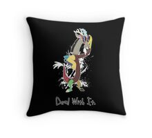 My Little Pony Discord - Deal With It Throw Pillow