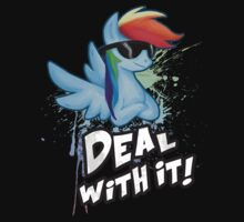 My Little Pony Rainbow Dash - Deal With It by Kaiserin