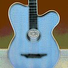 The Blue Guitar by aline