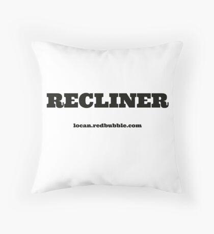 RECLINER Throw Pillow
