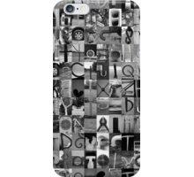 Alphabet Soup No.1 iPhone Case/Skin