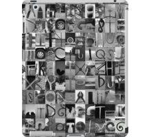Alphabet Soup No.1 iPad Case/Skin