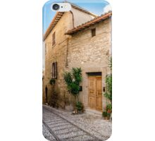 Umbrian Lane iPhone Case/Skin
