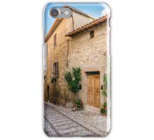Umbrian Lane iPhone Case/Skin