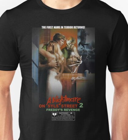 Say You Love Satan 80s Horror Podcast - A Nightmare on Elm Street 2 Unisex T-Shirt