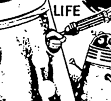 Dalek Playsuit Sticker