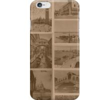 Vintage Venice Lagoon iPhone Case/Skin
