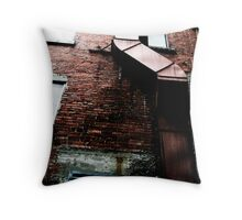 Snuff Alley Throw Pillow