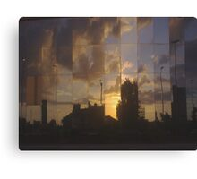 Reflecting On The Day Thats Been Canvas Print
