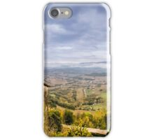 A View from Todi iPhone Case/Skin