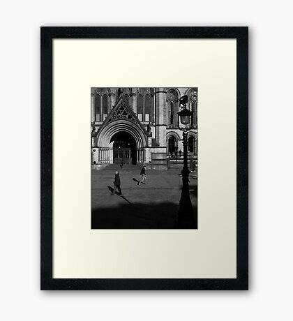 Mancunium Framed Print