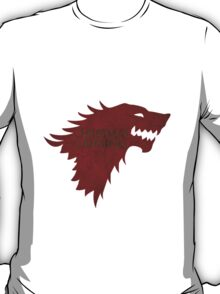 Christmas is Coming - Game of Thrones Stark Banner T-Shirt