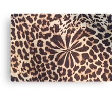 leopard fur Canvas Print