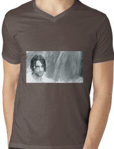 April - Nature & Humanity Mens V-Neck T-Shirt
