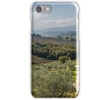 Umbria Fields iPhone Case/Skin