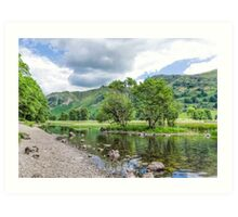 Brothers Water Lake District Art Print