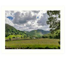 Hartsop Valley Lake District Art Print