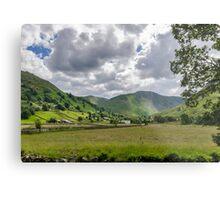 Hartsop Valley Lake District Metal Print