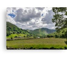 Hartsop Valley Lake District Canvas Print