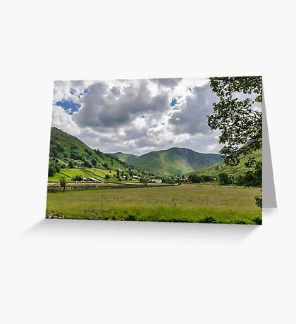 Hartsop Valley Lake District Greeting Card