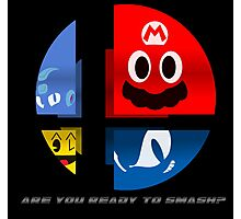 Are Ready to Smash? (Silhouette Var.) Photographic Print