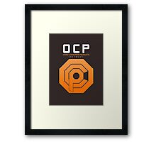 Omni Consumer Products (OCP) Framed Print