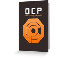 Omni Consumer Products (OCP) Greeting Card