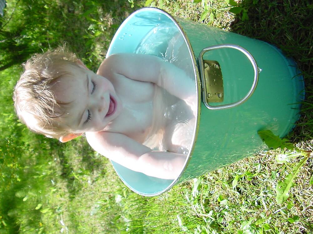 rub a dub a baby in a tub by akeagle1999