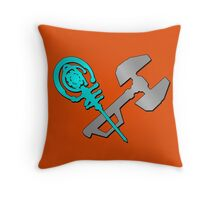 Tools of Destruction Throw Pillow