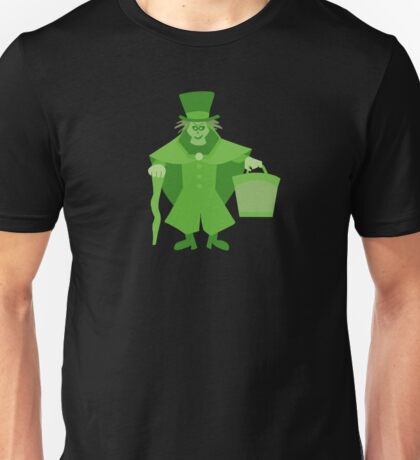 Hatbox Ghost (Green) - The Haunted Mansion Unisex T-Shirt